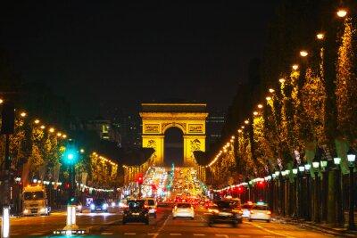Fototapeta Arc de Triomphe de l'Etoile v Paříži