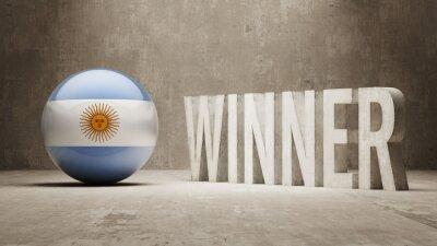 Argentina. Vítěz Concept.