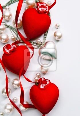 Art design blahopřání s láskou srdce Šťastný Valentýna