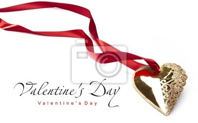 Art Valentýn Golden Heart