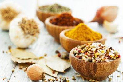 Fototapeta Assorted spices