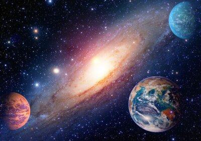 Fototapeta Astrologie astronomie zeměkouli vesmír sluneční soustava planeta mars Mléčná dráha. Prvky tohoto obrázku zařízeném NASA.