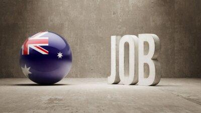 Austrálie. Concept Job.
