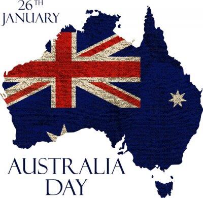 Fototapeta Austrálie den poster