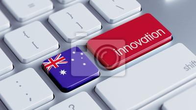 Austrálie Inovace Concept