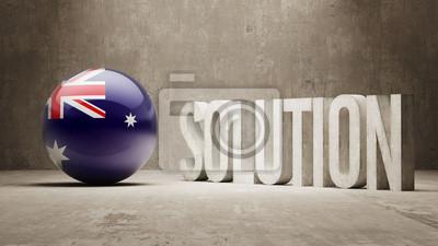 Austrálie. Solution Concept.