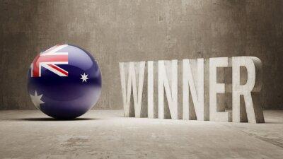 Austrálie. Vítěz Concept.