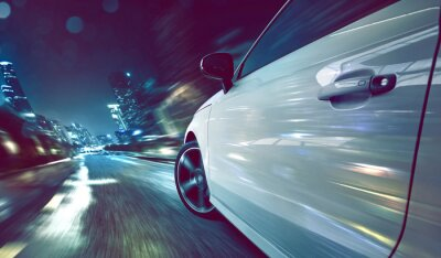 Fototapeta Auto v noci