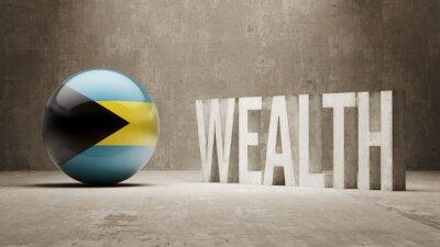 Bahamy. Bohatství Concept.