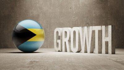 Bahamy. Concept růstu.