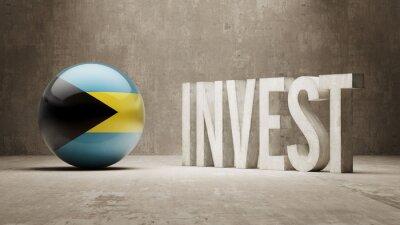 Bahamy. Invest koncept.