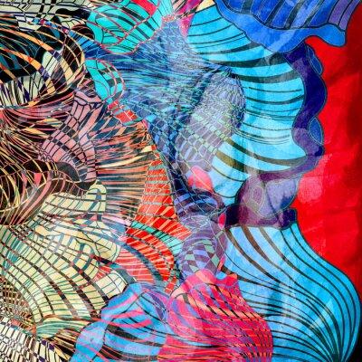 Fototapeta barevné abstraktní pozadí