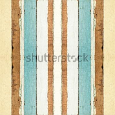 Fototapeta Barevné bezešvé staré dřevěné prkenné textury, lze použít pro pozadí