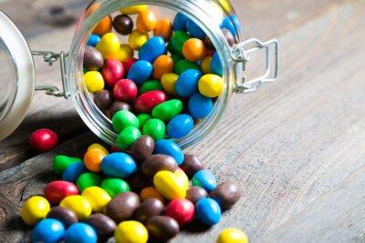 Fototapeta Barevné candy