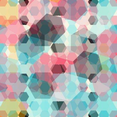 Fototapeta barevné geometrické pozadí