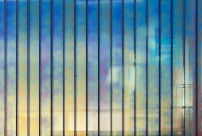 Fototapeta Barevné kancelářské stěny ze skla, pozadí