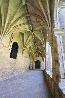 Fototapeta Barokní klášter klášter interiér