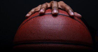 Fototapeta Basketbal a ruční uchycení