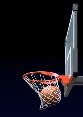 Fototapeta Basketbal výstřel