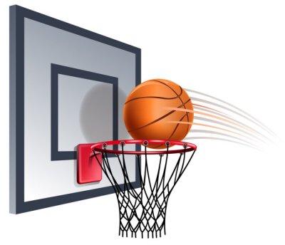 Fototapeta basketball hoop