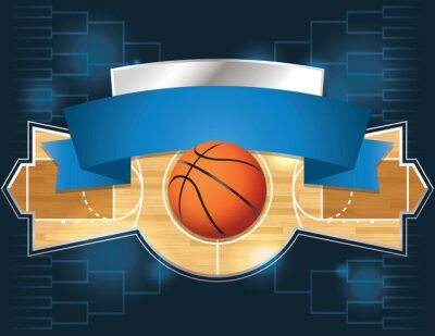 Fototapeta Basketbalový turnaj