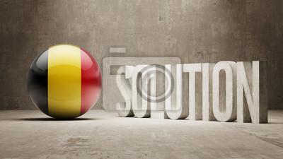 Belgie. Solution Concept.