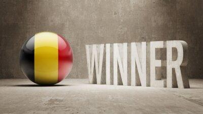 Belgie. Vítěz Concept.