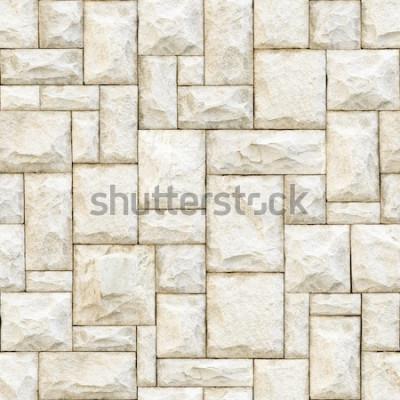 Fototapeta Bezešvé béžové kamenné povrchové pozadí.