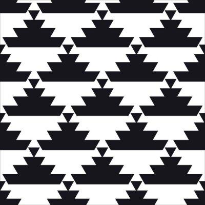 Fototapeta bezešvé geometrický vzor
