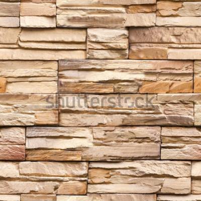 Fototapeta bezešvé kamenné zdi textury a pozadí