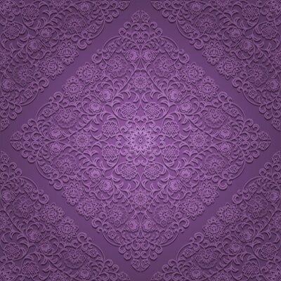 Fototapeta Bezešvé květinovým vzorem