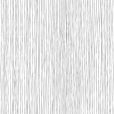 Fototapeta Bezešvé svislé čáry ručně kreslených vzor