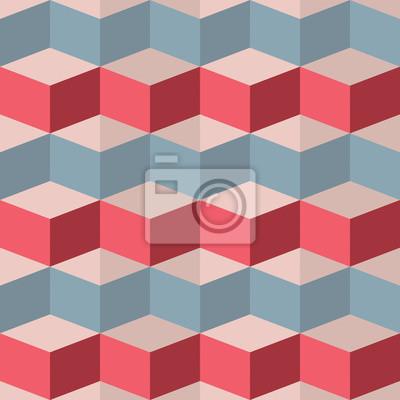 Fototapeta Bezproblémová geometrický vzor malina