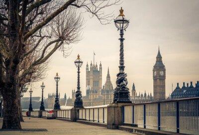 Fototapeta Big Ben a Houses of Parliament, Londýn