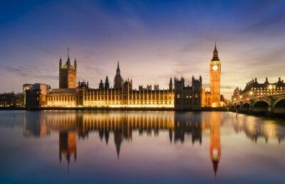 Fototapeta Big Ben a sídlu parlamentu