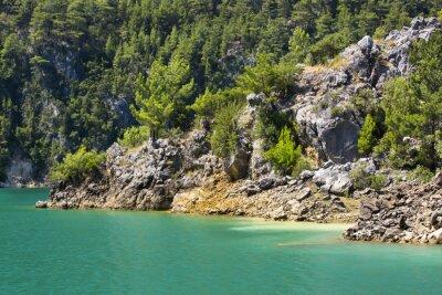Fototapeta Big Green Canyon Nature Reserve v Turecku