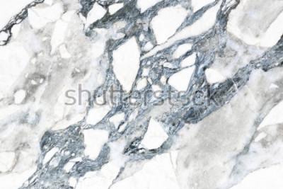Fototapeta Bílá mramorová textura s přirozeným vzorem pro pozadí