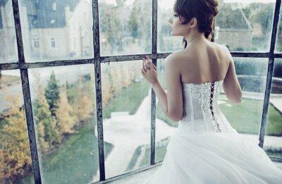 Fototapeta Bílá nevěsta