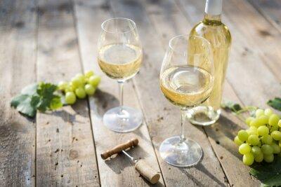 Fototapeta bílé víno