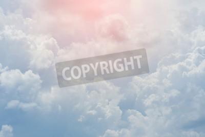 Fototapeta bílý mrak se vztahuje oblohy, zataženo dramatický oblohy, abstraktní pozadí nebe