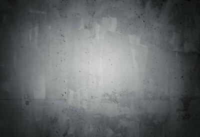Fototapeta Black grunge zvětralý betonová zeď textury