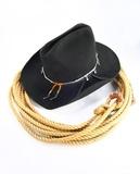 Cowboy čelní ozubení pohled fototapeta • fototapety bez sedla ... d469974f6b