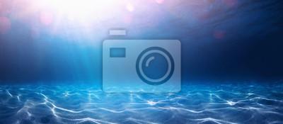 Fototapeta Blue Ocean Water Background