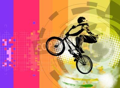 Fototapeta BMX rider