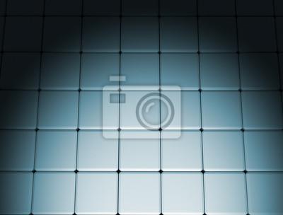 Fototapeta Bodové světlo kovové pozadí