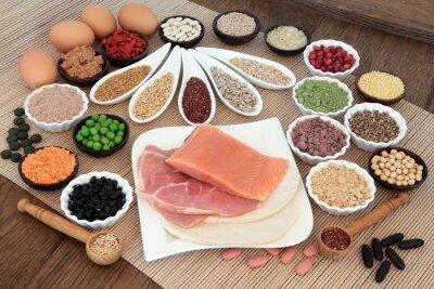 Fototapeta Body Stavební Dietní strava