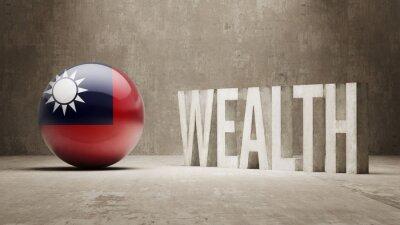 Bohatství Concept.