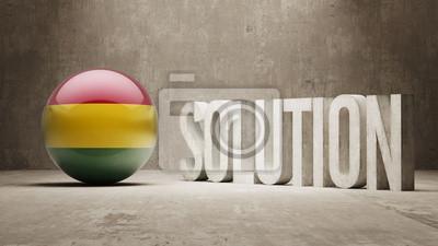 Bolívie. Solution Concept.
