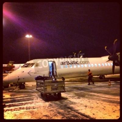 Fototapeta Bombardier Dash 8 Q400 NextGen