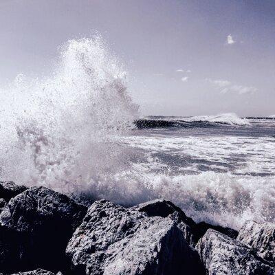 Fototapeta bouře v Marbelle
